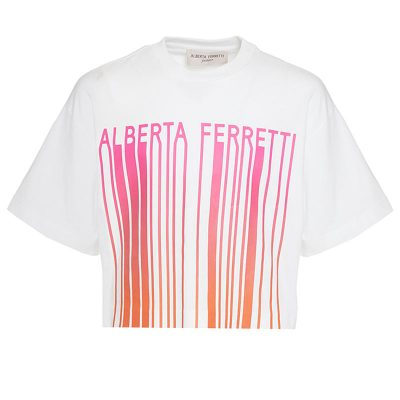 T-shirt corta alberta ferretti junior