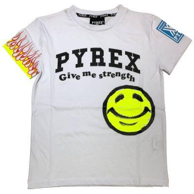 T-shirt pyrex bambino