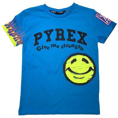 T-shirt smile pyrex bambino