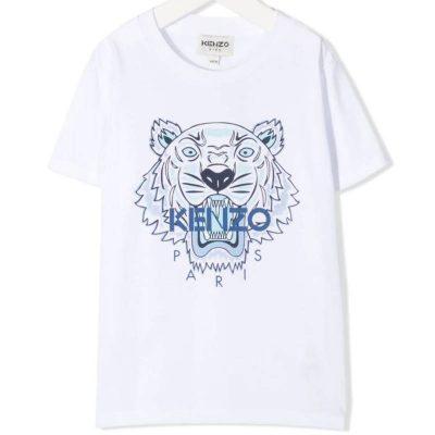 T-shirt tiger kenzo bambino