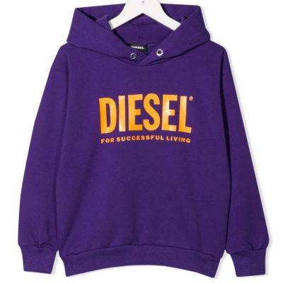 Felpa viola diesel kids