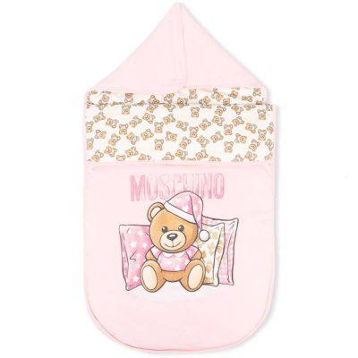 Sacco rosa Moschino baby