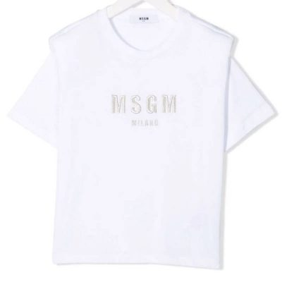 T-shirt spalline msgm bambina