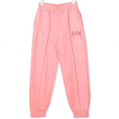 Pantalone rosa msgm bambina