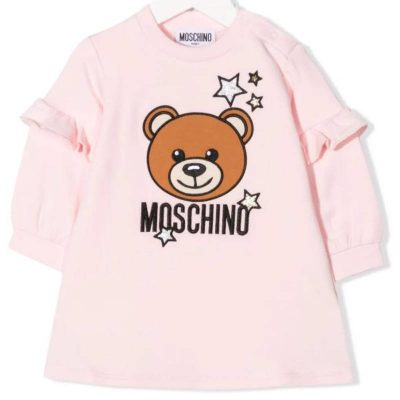 Vestito stelle moschino neonata